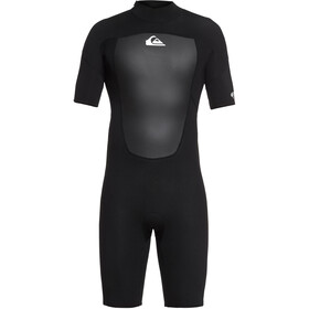 Quiksilver 2/2mm Prologue SS Back Zip Springsuit Men, black
